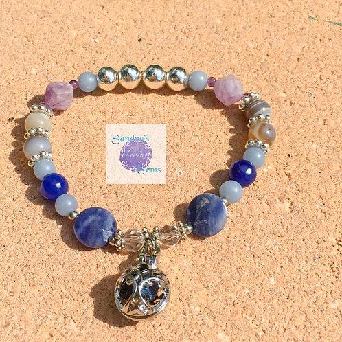Aromatherapy Bracelet - Inner Peace & Mental Clarity
