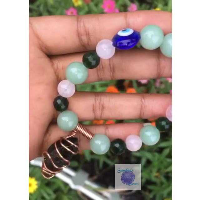 Love, Protection, Monetary Abundance Bracelet