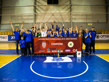 TFS Nikars-Vanagi kļūst par Latvijas čempioniem!