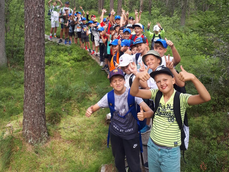 """RVFS NIKARS audzēkņi piedalījās vasaras nometē """"RVFS NIKARS Summer Camp 2021"""""""