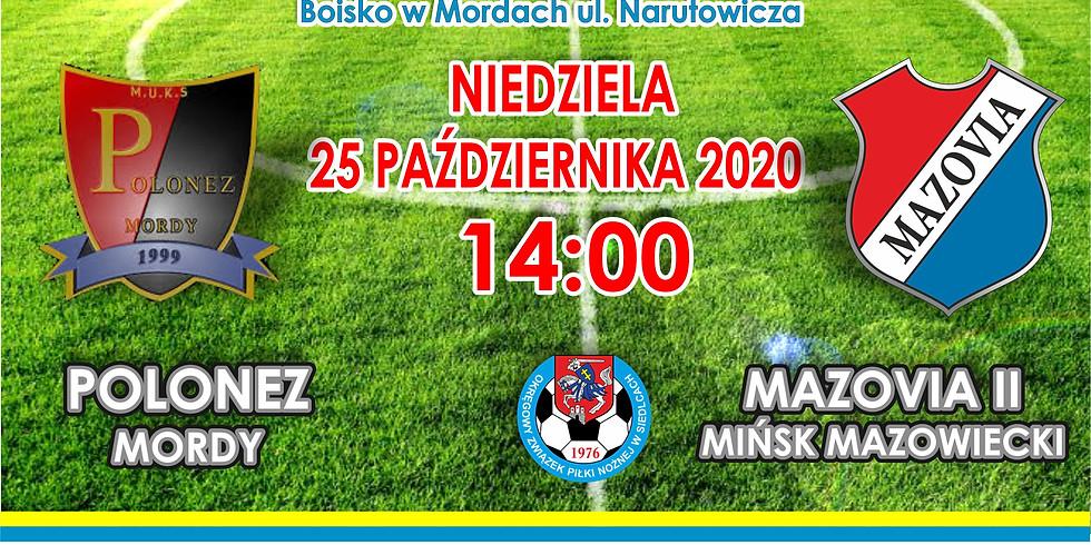 Polonez Mordy - MKS Mazovia II Mińsk Maz.