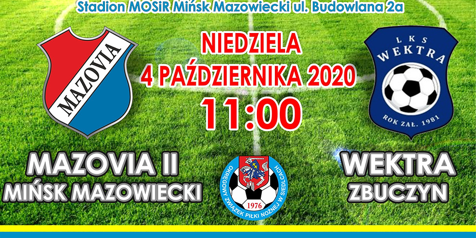 MKS Mazovia II - WEKTRA Zbuczyn