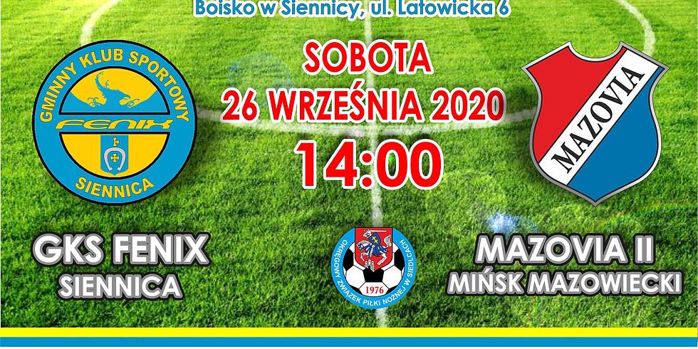 Fenix Siennica - Mazovia II Mińsk Mazowiecki