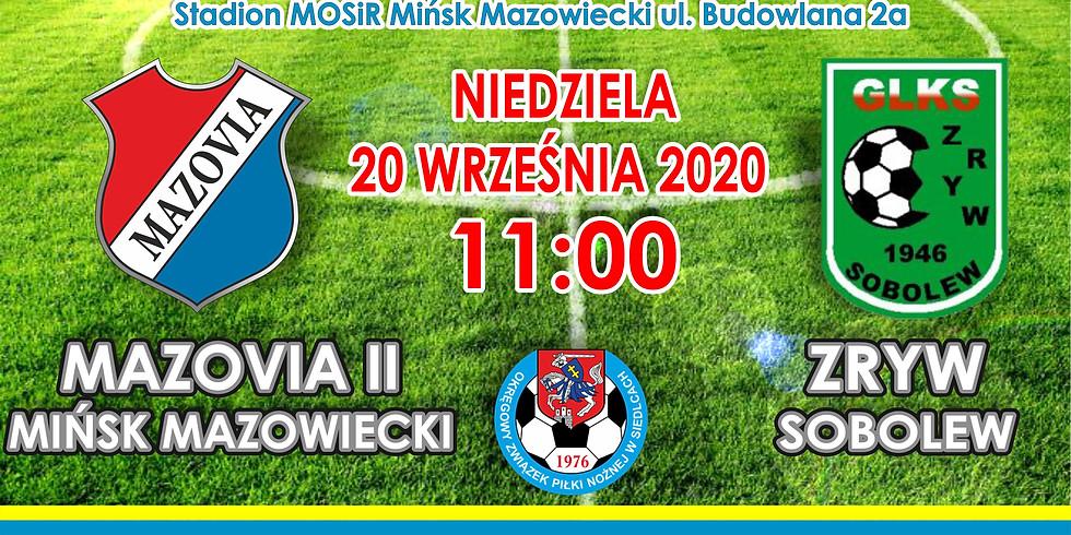 MKS Mazovia II - Zryw Sobolew