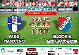 MKS Piaseczno - MKS Mazovia
