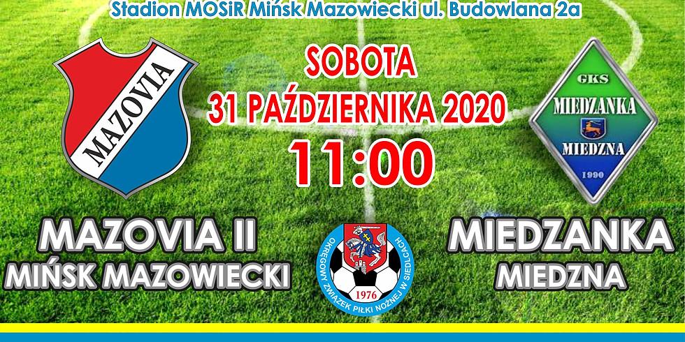 MKS Mazovia II - Miedzanka Miedzna