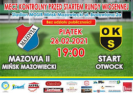 MKS Mazovia II - OKS Otwock