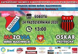MKS Mazovia - Oskar Przysucha