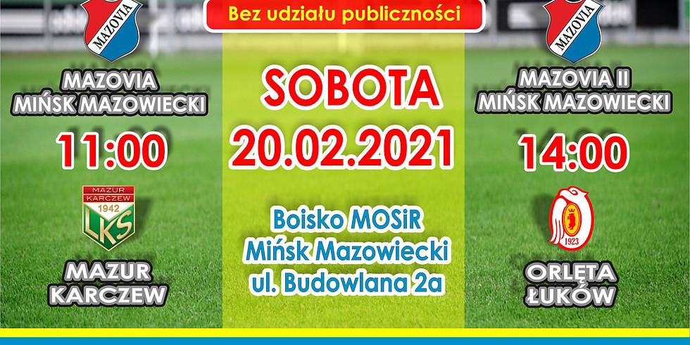MKS Mazovia II - Orlęta Łuków