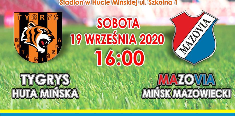 Tygrys Huta Mińska - Mazovia Mińsk Maz.