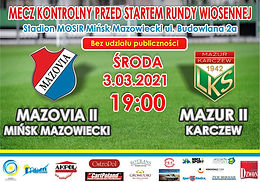 MKS Mazovia II - Mazur II Karczew
