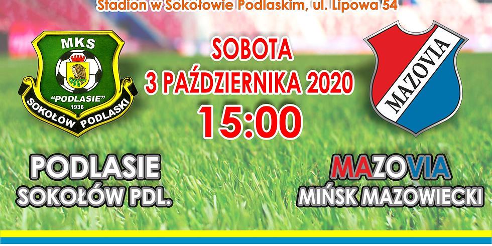 Podlasie Sokołów Podlaski - MKS Mazovia