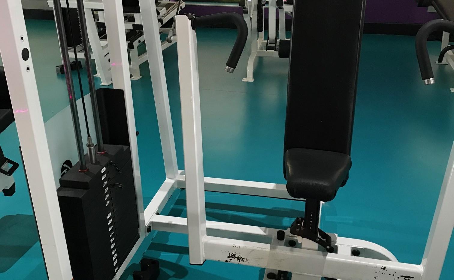 Life Fitness Pro Chest Press