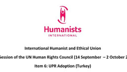 Video Statement for the 45th Session of the UN Human Rights Council (14 September  – 2 October 2020)
