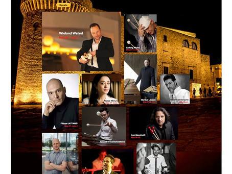 World Percussion Movement Academy, Competition & Festival 2019     in Conversano (Bari), Italy