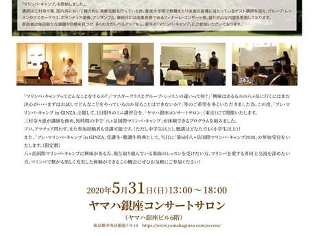 Online Yatsugatake International Marimba Camp 2020