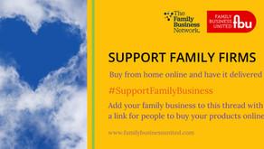 Coronavirus - Supporting Family Firms