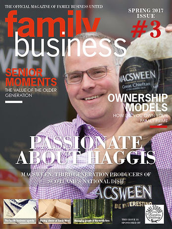 Family Business Magazine cover Spring 20