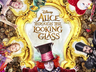 It's showtime! Join us for nachos, hot dogs and & 'Alice Through the Looking Glass'!