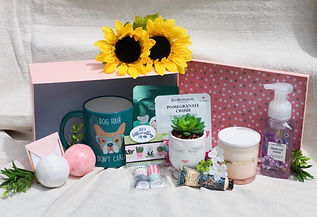 Nothing But Sunshine Gifts Get Well Wishes Sunrise basket