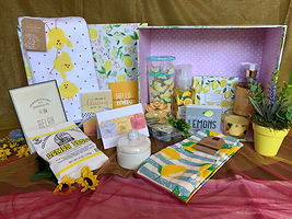 Get Well Wishes basket by Nothing But Sunshine Gifts