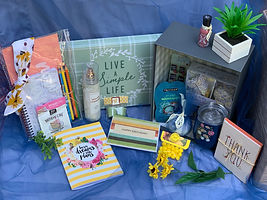 Happy Birthday gift basket by Nothing But Sunshine Gifts