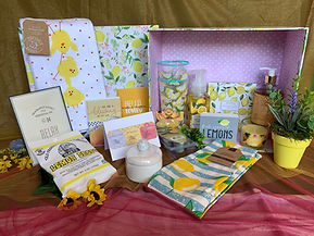 Nothing but Sunshine gifts- Sunshine Delight Get Well basket
