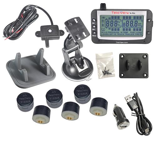 TVR06C-01-001 TireView Kit 6 Cap Mono USB