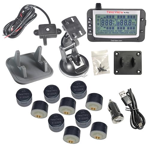 TVR10C-01-001 TireView Kit 10 Cap Mono USB