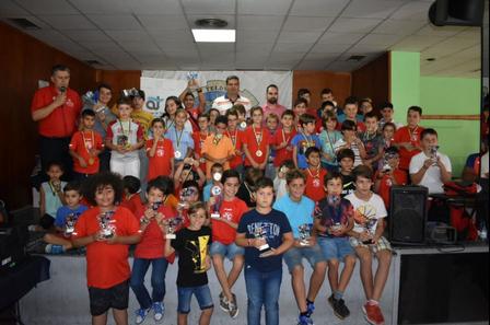 El CEIP La Garita destaca en XIX Torneo Escolar de Ajedrez Memorial Juan Martín