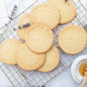 Honey Lavender Cookies
