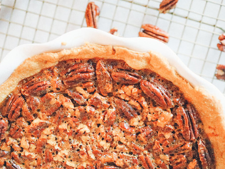 Browned Butter Bourbon Pecan Pie