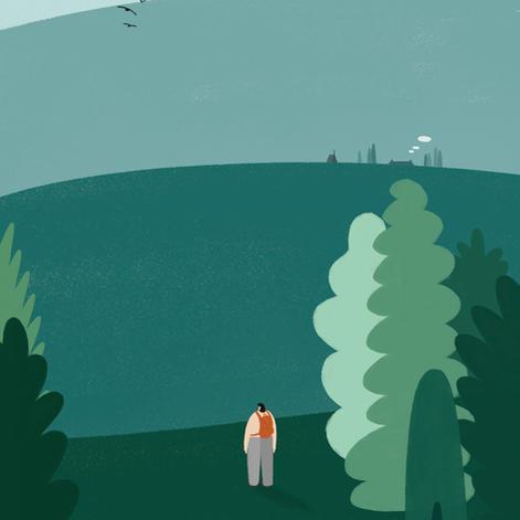 A mountain walk