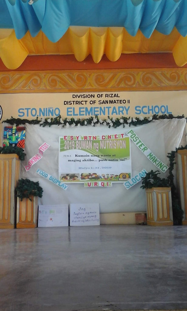 "Nutrition Month with the theme ""Kumain nang wasto at maging"