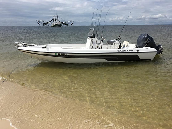 Barlow's Charters and Guide Services boat Skeeter sx2250
