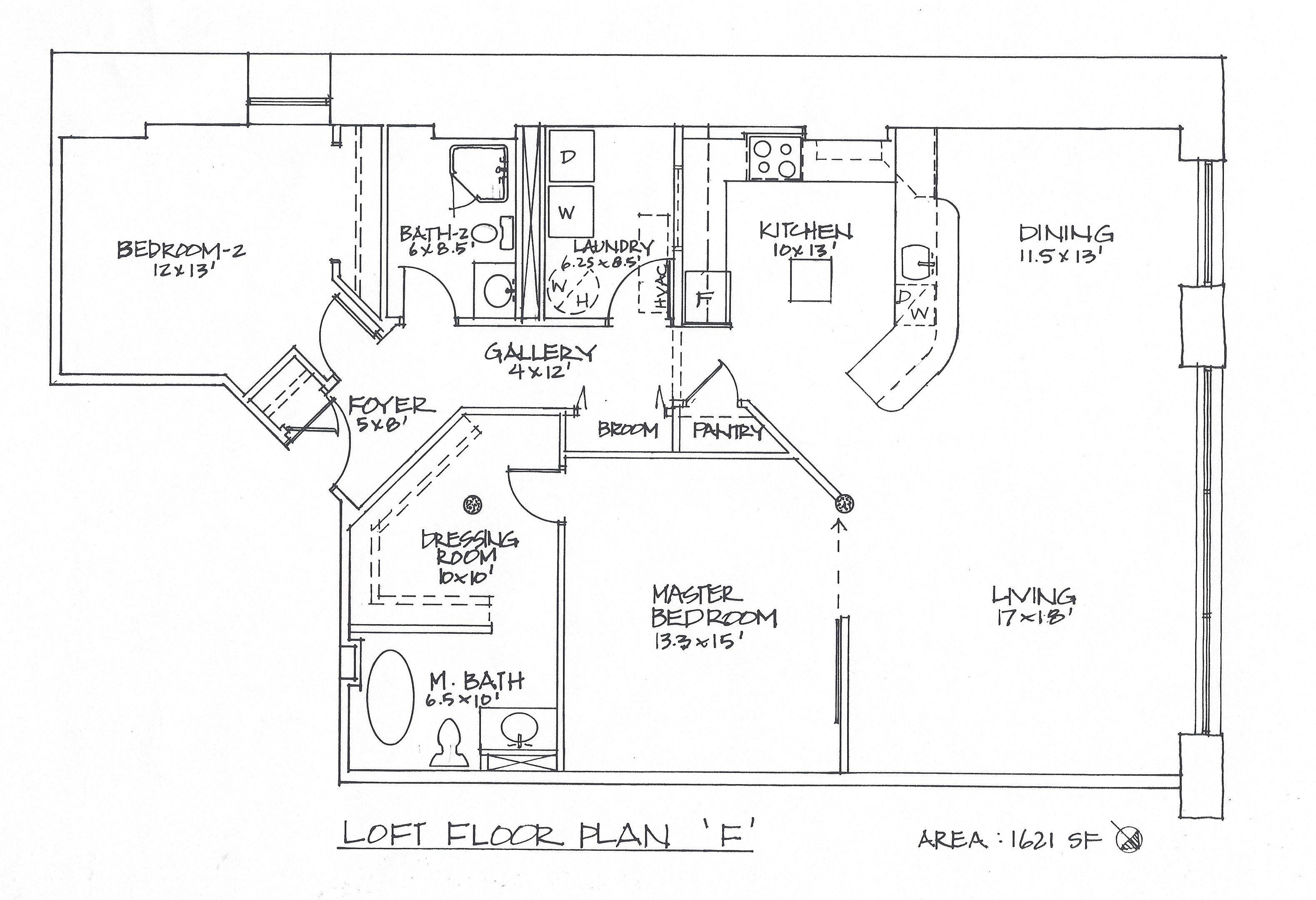 Fairchild Lofts Plans