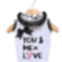 walkie's couture felpa you & me=love