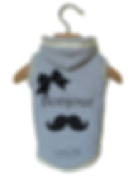 walkie's couture felpa bonjour