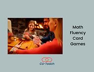 Math Fluency Card Games