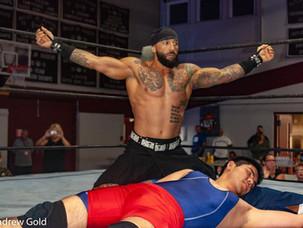 IWF Heavyweight Champion Dracko Beats Cancer