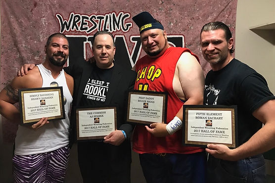 IWF Wrestling Hall of Fame Class of 2017