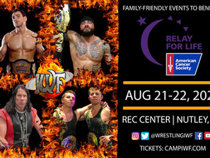 Cards Announced for Sold-Out IWF Aug 21-22 Events in Nutley, NJ