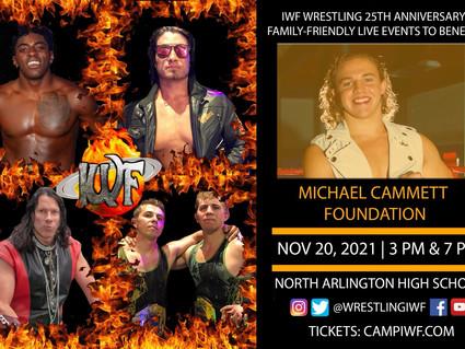 IWF 25th Anniversary Events Begin November 20 in North Arlington, NJ