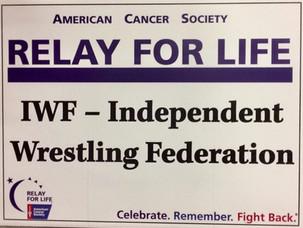 IWF Wrestling Fundraiser April 18, 2020 in Nutley, NJ