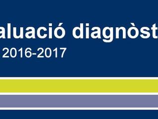 PROVES D'AVALUACIÓ DIAGNÒSTICA A 3r DE PRIMÀRIA