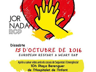 Dia Europeu de Conscienciació de l'Aturada Cardiorespiratòria (15/10/2015)