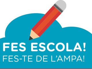 INSCRIPCIÓ SOCI/A AMPA. CURS 2017-2018