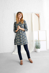 Cape Cornwall Tunic - Spring Boarder Har