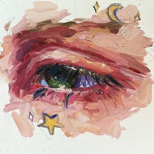 Eye Study #3 - Original Painting