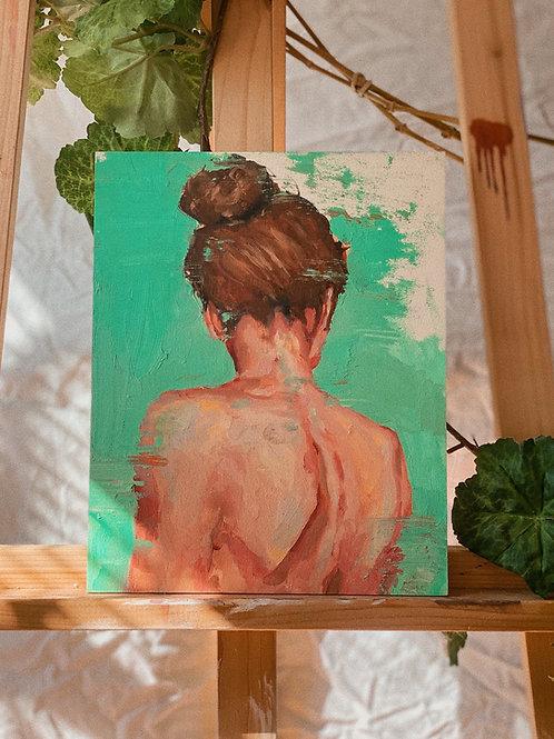 study #4 - Original Painting